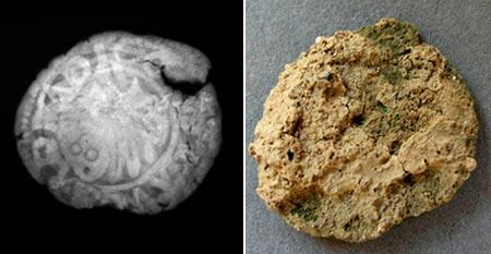 Copper-based coin, Agioi Apostoloi